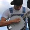 Rick gets down to the sweet banjo sound of Chad McDermott